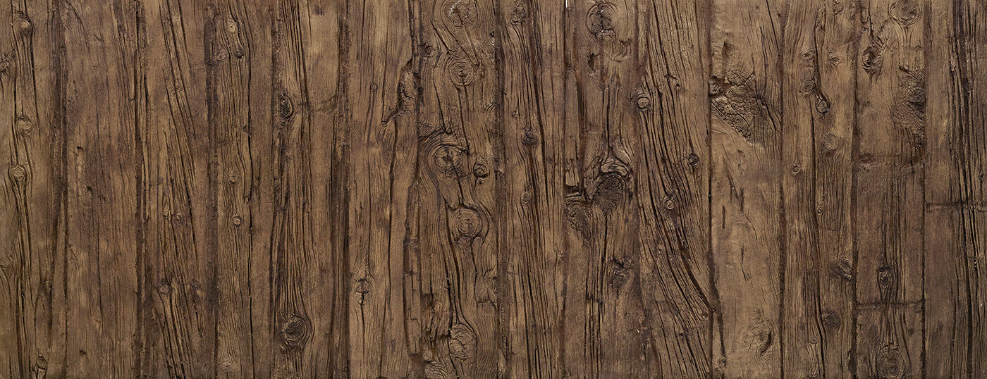 Vertical Wooden Sleepers #Old Walnut