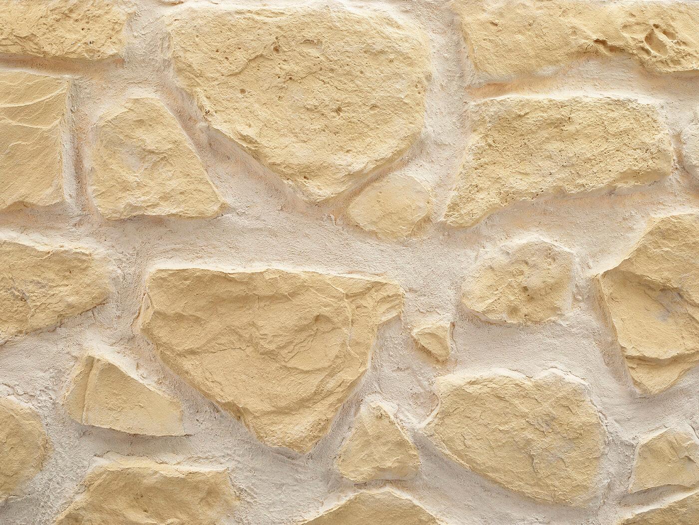 New Masonry Stone #White Castilian