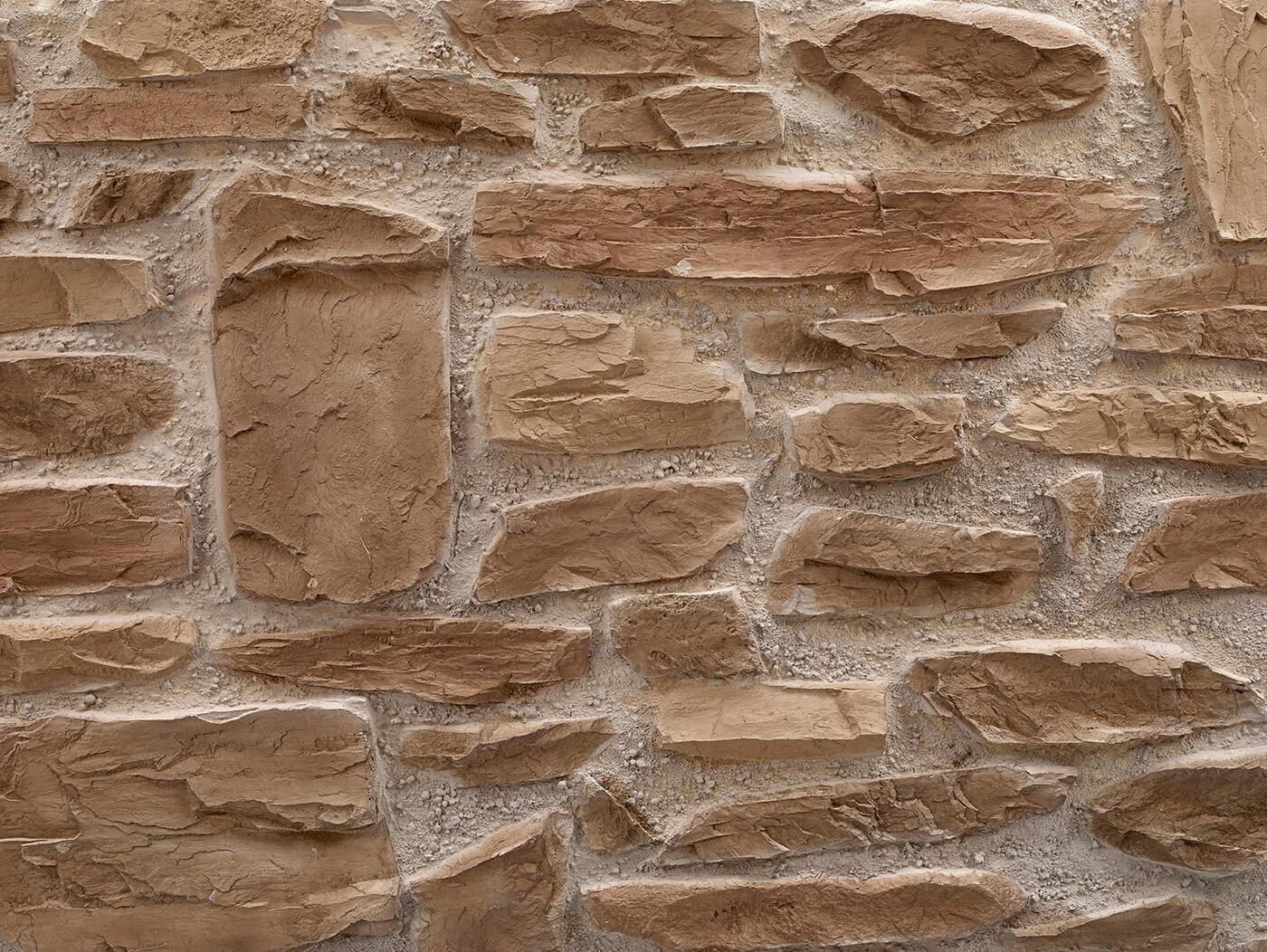 Piedra Rústica #marrón claro