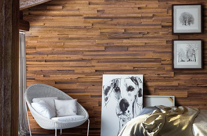 ambiente madera paneles realistic wall