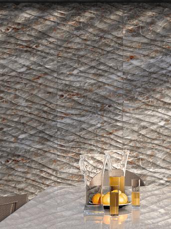 Terrazas con paneles decorativos 3D de pared