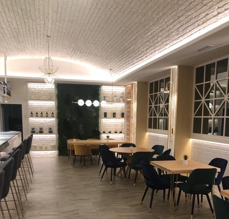 MSD - Old Stones - Ladrillo macizo blanco - Restaurante Alegrias