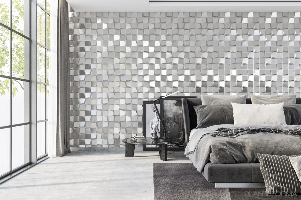 Bedrooms Of The Future With 3d Wall Panels Msd Paneles Y Revestimientos