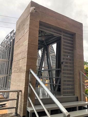 Instalación exterior MSD Panels en Honduras
