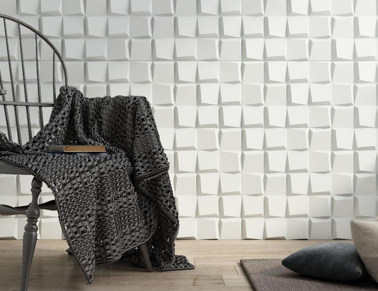 MSD Paneles 3D Komodo blanco