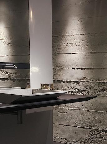 Splendid Décor Solution: Panels Imitate Concrete