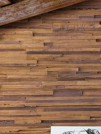 Paneles de madera como revestimiento para paredes interiores, ¿merecen la pena?